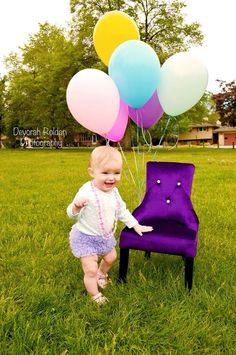 #ChildrenPhotography #balloonsprops