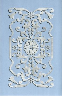 Painting Designs on Furniture and Walls - Panel Stencils for Cabinets, Doors, and Wall Decor - Royal Design Studio