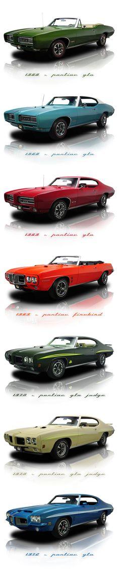 Pontiac GTO & Firebird 60'/70'