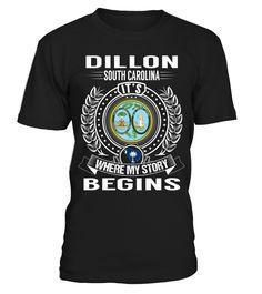 Dillon, South Carolina - My Story Begins