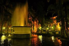 Fonte Luminosa e Palace Cassino