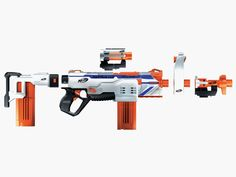 Nerf's Newest Blasters Include a 10-Barreled Mega Monster | Credit: Nerf | From Wired.com