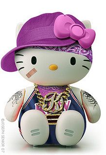 Hello Gangsta Kitty by yodaflicker, via Flickr