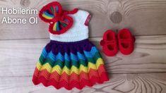 Crochet Baby Costumes, Crochet Hats, Crochet Teacher Gifts, Crochet Projects, Doll Clothes, Dolls, Dresses, Daisy, Fashion