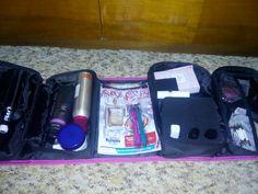 Cestovny organizer na kozmetiku