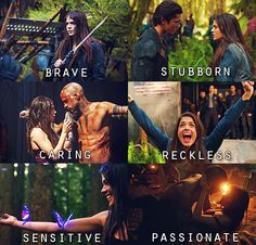 Octavia Blake #The100 She is by far my favorite now