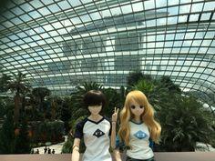 My Eiji and Kizuna SmartDolls in Singapore by ibr-remote.deviantart.com on @DeviantArt