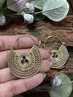 Fab & Fun Boho, Luxe, Gypsy and Tribal Dangle Earrings by MissBohoRose Tribal Earrings, Dangle Earrings, Crochet Earrings, Dangles, Etsy Seller, Bohemian, Brass, Free Shipping, Unique