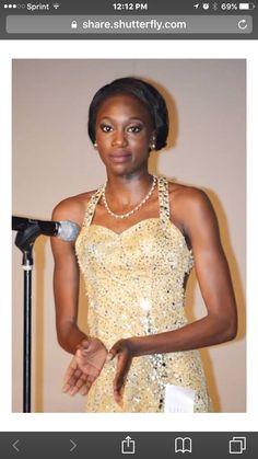Khadiajtou Gueye Miss Black Ohio Teen 2016