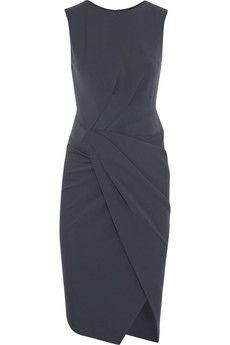 Donna Karan Gathered jersey dress | NET-A-PORTER