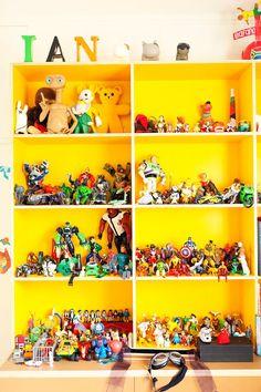 kid playroom, storage shelves, boy toys, kid rooms, children toys