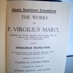 The Works Of P Virgilius Maro/ Virgil / And An by Lionfishvintage