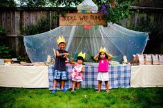 Best Kids Parties: Where the Wild Things Are — My Party: Noah, Madeleine & Arielle (Fairfax, VA)   Apartment Therapy