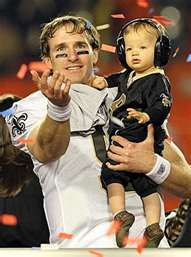 One of the sweetest moments in NFL history...who dat!!