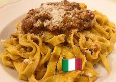 Bolognai ragu, ahogy én készítem-inspiráció ElviBear konyhájából Bologna, Chicken, Meat, Food, Essen, Meals, Yemek, Eten, Cubs