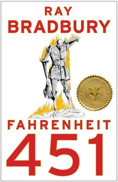 Ray Bradbury's internationally acclaimed novel Fahrenheit 451 is a masterwork of twentieth-century literature set in a bleak, dystopian future. Guy Montag is a fireman. In his world, where television rules and literature is on. Fahrenheit 451, This Is A Book, The Book, Reading Lists, Book Lists, Reading Room, Science Fiction Books, Kurt Vonnegut, Margaret Atwood