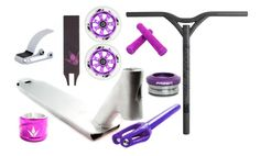 Bakerized Action Supply - Envy AOS Complete IHC Pro Scooter Kit Raw, $349.99 http://www.bakerized.com/
