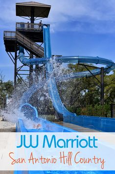 Looking for a fun-filled family vacation destination in the Texas Hill Country? JW Marriott San Antonio's brand new $16 million water park expansion is now open. Guests of the resort can enjoy eight acres of water fun, with a new sandy beach entry pool, spa, cabanas, and even more water slides!