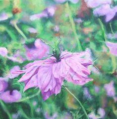 """Saatchi Art Artist: Richard Freer; Oil 2008 Painting """"Nigella"""""""