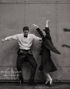 ©Enrico Nawrath - www.enonava.com - All rights reserved!  Principal Dancers of ABT Julie Kent & Marcelo Gomes in high spirits…