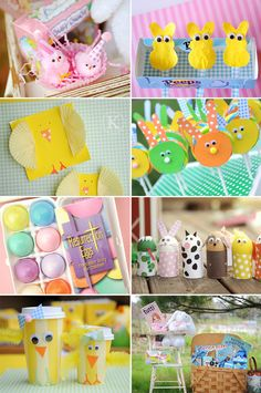 Adorable spring crafts and activities