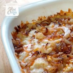 "It's German ""Mac & Cheese"" only better! Cheese Spätzle! Check out http://www.quick-german-recipes.com/cheese-spaetzle.html"