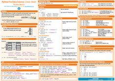 Data Science in Python: Pandas Cheat Sheet http://www.datasciencecentral.com/profiles/blogs/data-science-in-python-pandas-cheat-sheet
