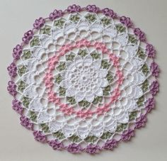 Stop here for a larger doily