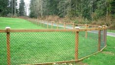 Fences are useful for both security purposes and to separate your property from your neighbor to landscaping and yard care. Wood Fence Post, Wood Post, Wooden Fence, Fence Post Installation, Chain Link Fence, Yard Care, Connection, Landscape, Fences