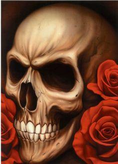 Tattoo inspiration... Skull