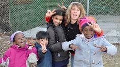 Art Relief Caravan for Sandy Children