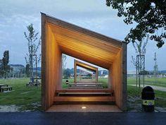Project: 9 Pavilions in the Parc des Rives - LOCALARCHITECTURE Sàrl