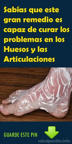 Sabías que este gran remedio es capaz de curar los problemas en los Huesos y las Articulaciones - Salud por Día
