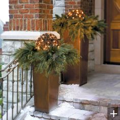 Nice entry way addition for holidays