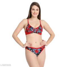 Lingerie Sets Comfy Women's Cotton Lingerie Set Fabric: Cotton Sleeves: Sleeves Are Not Included Size: 30B: Cup Size - Underbust - 25 in To 26 in Overbust - 31 in To 32 in Waist - 28 in Hip - 34 in 32B: Cup Size - Underbust - 27 in To 28 in Overbust - 33 in To 34 in Waist - 31 in Hip - 36 in 34B: Cup Size - Underbust - 29 in To 30 in Overbust - 35 in To 36 in Waist - 33 in Hip - 38 in 36B: Cup Size - Underbust - 31 in To 32 in Overbust - 37 in To 38 in Waist - 37 in Hip - 40 in Type: Stitched Description: It Has 1 Piece Of Bra & 1 Piece of Panty Work: Printed Country of Origin: India Sizes Available: 30C, 32C, 34C, 36C, 30A, 32A, 34A, 36A, S, M, L, XL, 30B, 32B, 34B, 36B   Catalog Rating: ★4 (4440)  Catalog Name: Trendy Women'S Cotton Lingerie Set Vol 4 CatalogID_454073 C76-SC1043 Code: 441-3285686-