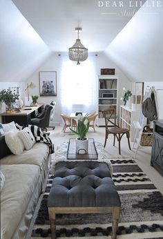 27 Beautiful Living Room Design Ideas In A Small Space To Try. If you are looking for Living Room Design Ideas In A Small Space To Try, You come to the right place. Below are the Living Room Design I. Attic Spaces, Attic Rooms, Attic Bathroom, Attic Apartment, Attic Playroom, Bonus Room Playroom, Bonus Room Bedroom, Attic Library, Attic House