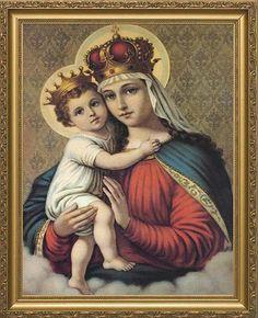 Virgin Mary and God Child - Michele Madalena Oliveira
