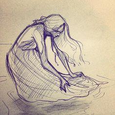 The Art Of Feelingfairyish - Sketching images on Pinterest again…  •  #art...