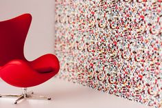 Identity Papers Mi Casa Su Casa Full Colour This and other Photomontage Wallpapers at Tent London 2014, Stand G20, Hall T1