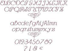Alphabet à broder au point de croix. Retrouvez le diagramme gratuitement ici [http://swappons.kazeo.com/les-alphabets-de-sof/charleston,a391441.html]