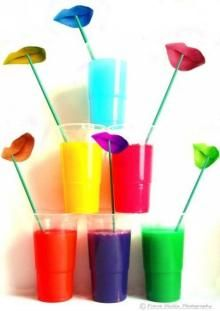 Rainbow paint cocktails by ~PierreDevlin on deviantART Rainbow Cocktail, Rainbow Drinks, Rainbow Food, Rainbow Lips, Happy Colors, True Colors, All The Colors, Colours, Bright Colors