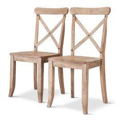 Harvester X-Back Dining Chair (Set of 2) - Beekman 1802 FarmHouse™ : Target