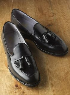 Mens Hand Stitched Fine Style with Tassels Pure Leather Pump Shoes, dress shoes - Casual