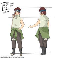 Tsume Inuzuka and Kuromaru Outfits Color by SunakiSabakuno ...