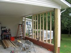 convert carport into garage - Google Search