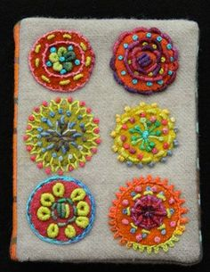 CIRCLE NEEDLE CASE KIT - Sue Spargo