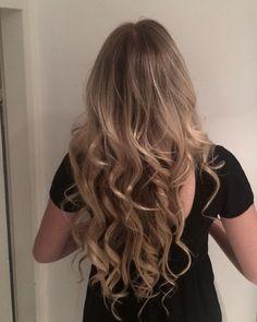 My new hair! Subtle blonde balayage ombre sombre dark blonde