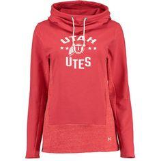 Women's Under Armour Red Utah Utes Performance Hoodie