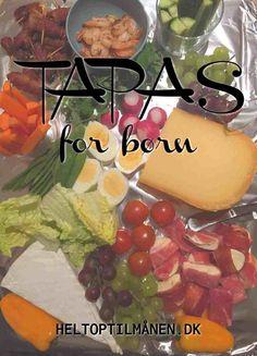 Tapas for børn - Helt op til månen - Børnenes maddag Tapas, Cheesy Eggs, Breakfast Meat, Bruchetta, Egg Casserole, Best Appetizers, Lunch Box, Mexican, Snacks