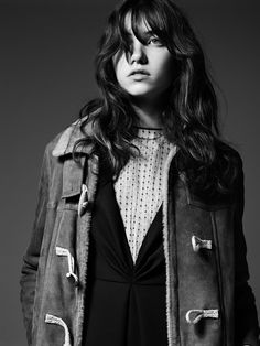 Grace Hartzel by Hedi Slimane for Saint Laurent Pre-Fall 2014 19
